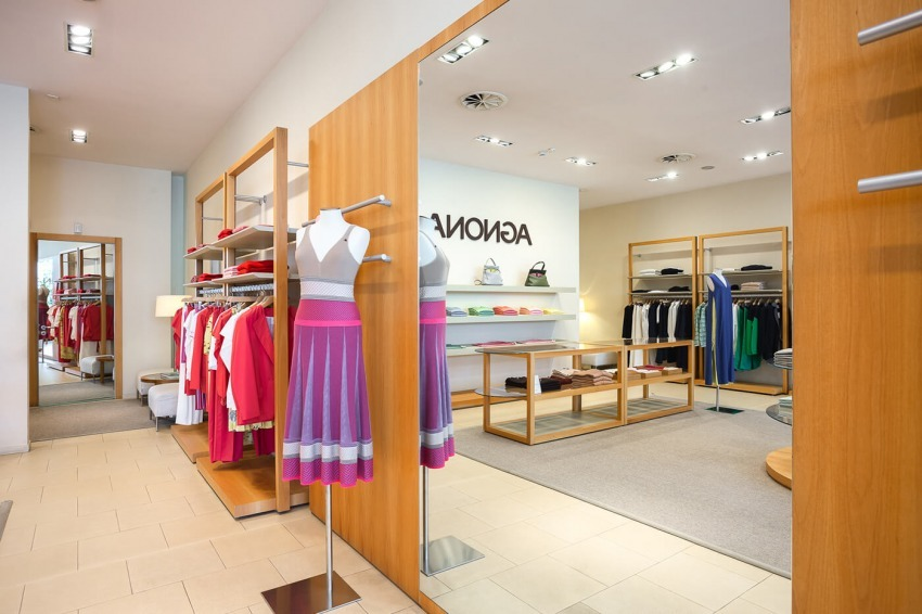 Agnona shop at The Place Outlet in Piedmont